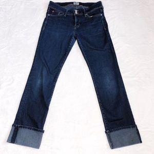 Hudson Skinny Cuff Jeans
